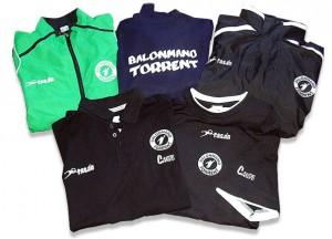 Equipacion Balonmano Torrent - Valencia Serigrafía