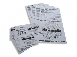 Cartelesy flyers Dómada - Valencia Serigrafia
