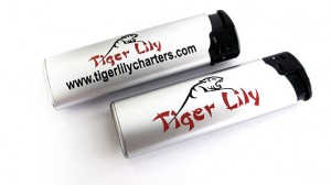 Encendedores serigrafia Tiger Lilly - Valencia Serigrafia