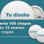 Oferta chapas personalizadas - Valencia Serigrafia