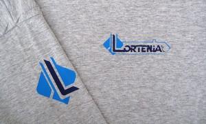 camisetas estampacion vinilo LORTENIA - valencia serigrafia