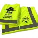 chaleco seguridad PAH - valencia serigrafia