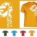 oferta camiseta balonmano playa - valencia serigrafia