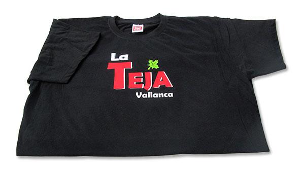 Camisetas vinilo La Teja - Valencia Serigrafia