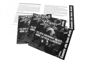 folleto diptico coneix els teus drets
