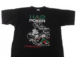 camiseta habpokergroup - valencia serigrafia
