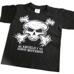 camiseta vinilo y transfer para niño motero- valencia serigrafia