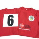 camiseta club futbol sala penyarroja - valencia serigrafia