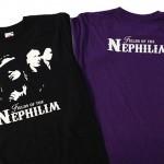 camisetas vinilo fields of the nephilim - valencia serigrafia