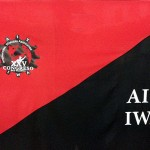 bandera congreso cnt serigrafia vinilo valencia