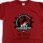 camiseta serigrafia congreso cnt - valencia serigrafia