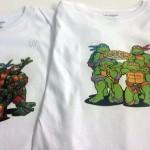 camisetas transfer tortugas ninjas - valencia serigrafia