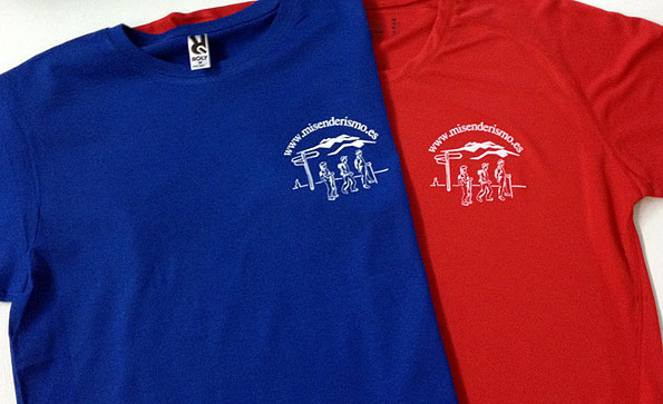 camiseta serigrafia misenderismo - valencia serigrafia