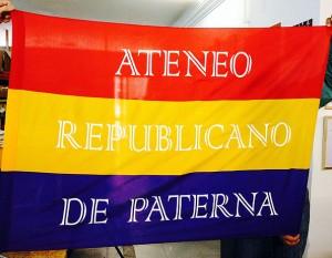 bandera ateneo republicano de paterna