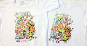 camiseta transfer dibujo falla - valencia serigrafia