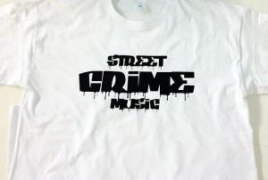 camiseta vinilo street crime music