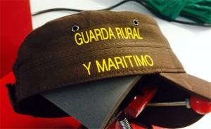 gorra vinilo guarda rural maritimo - valencia serigrafia