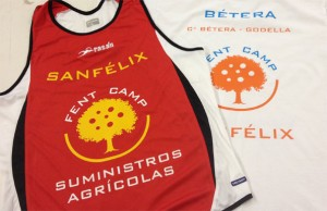 camisetas atletas betera vinilo textil - valencia serigrafia