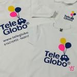 camisetas serigrafia tele globo vinilo