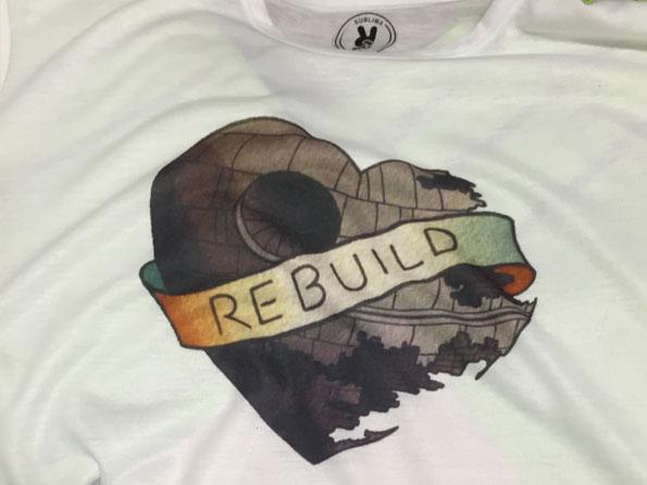 camiseta impresion sublimacion