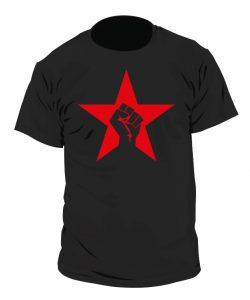 Camiseta Estrella y Puño