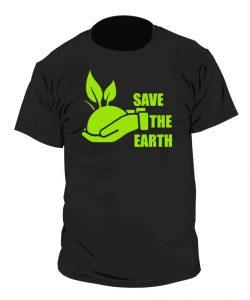 Camiseta Ecologista - Save the Earth