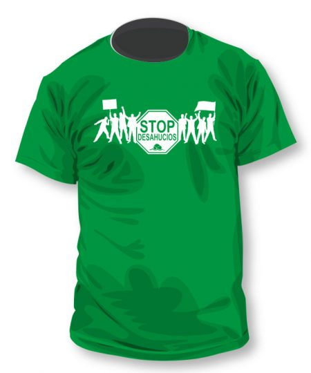 Camiseta Stop Desahucios 2