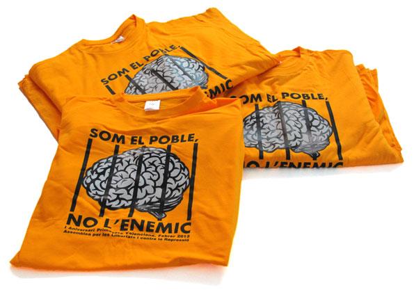 Camisetas som el poble - Valencia Serigrafía