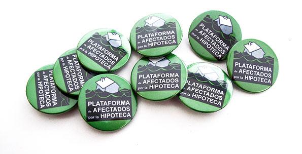 chapas plataforma afectados hipoteca malaga- valencia serigrafia