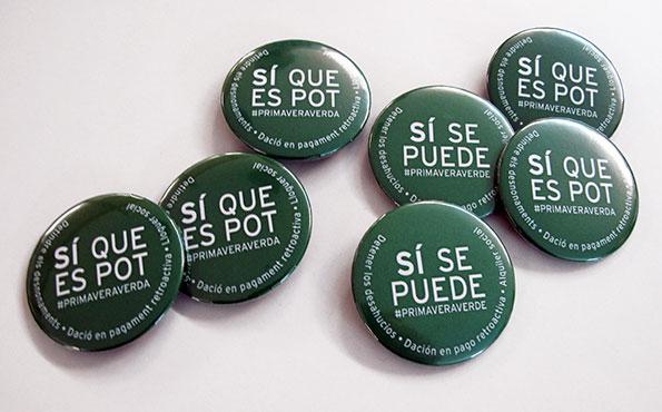 chapas si se puede - Valencia Serigrafia