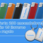 Oferta encendedores personalizados - Valencia Serigrafia
