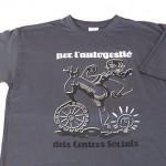camiseta autogestion centros sociales - valencia serigrafia