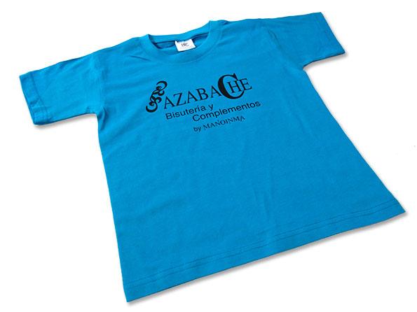 camiseta bisuteria azabache - valencia serigrafia