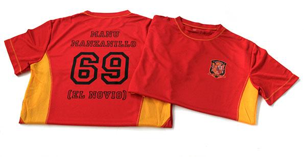camisetas seleccion despedida soltero - valencia serigrafia