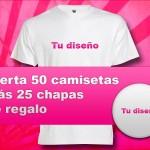 Oferta verano camisetas más chapas - Valencia Serigrafía