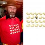 camiseta cabrero ovejas - valencia serigrafia