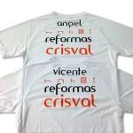 camisetas tecnicas reformas crisval - serigrafia valencia