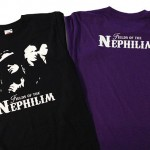 camisetas vinilo fields of the nephilim - valencia serigrafia