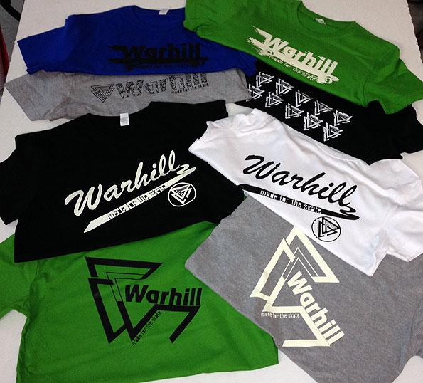camisetas vinilo serigrafia warhill - valencia serigrafia
