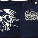 camiseta regalo estampacion vinilo graffitis - valencia serigrafia