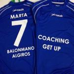 camisetas vinilo club balonmano algiros - valencia serigrafia