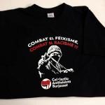 camiseta serigrafia ANTIFEIXISME BURJASSOT - valencia serigrafia
