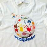 camiseta transfer canguros vip - valencia serigrafia