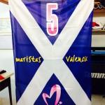 bandera maristas baloncesto valencia serigrafia