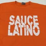 camiseta serigrafia sauce latino