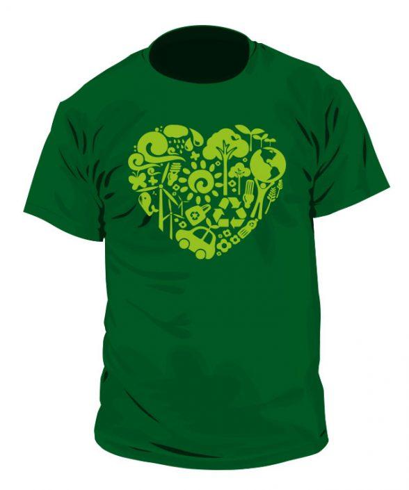 Camiseta Corazón Ecologista
