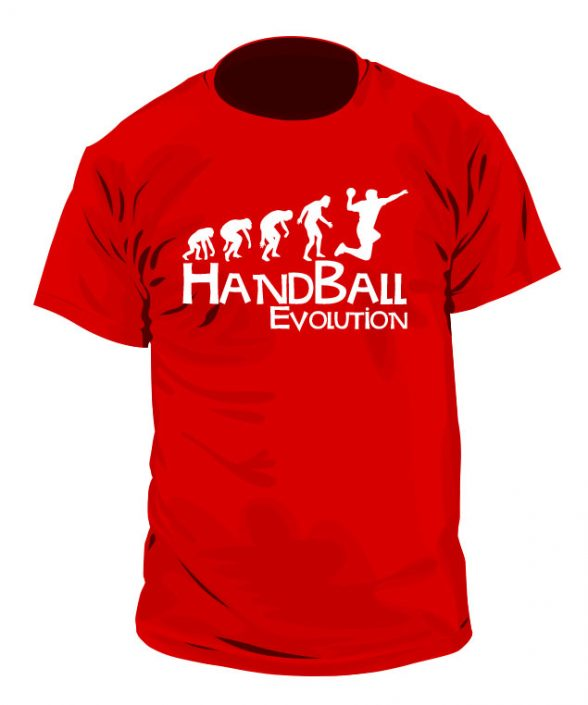 Camiseta Handball Evolution