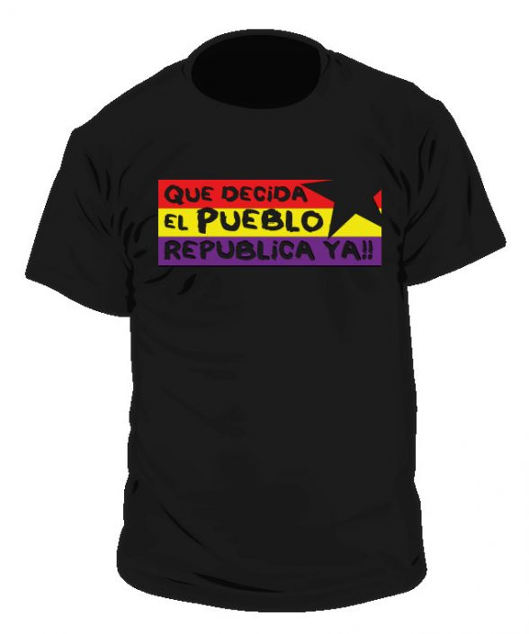 Camiseta Republica YA