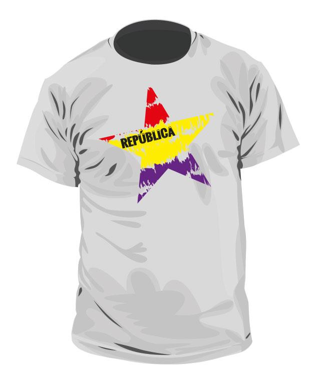 Camiseta de la República - Modelo 2
