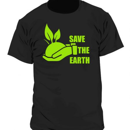 Camiseta Ecologista - Save the Earth